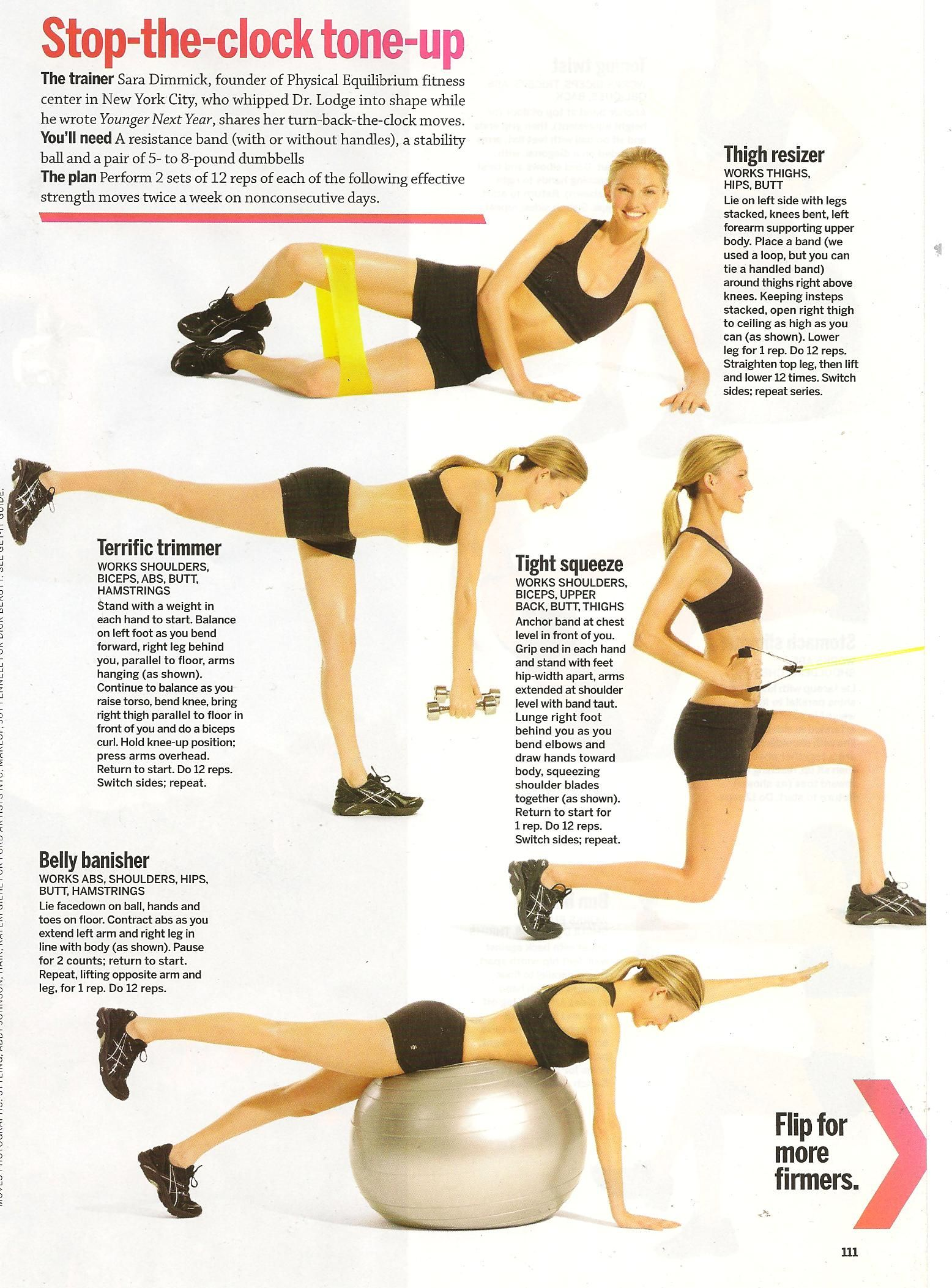 What Did We Learn This Month Selfmagazine With Ali Sweeney On The Cover Fitness Motivation Workout Ball Exercises