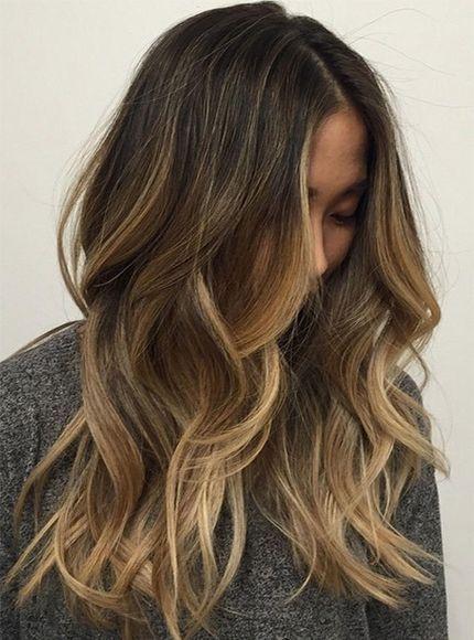 Dark Brown Hair With Caramel Blonde Highlights Brown Blonde Hair