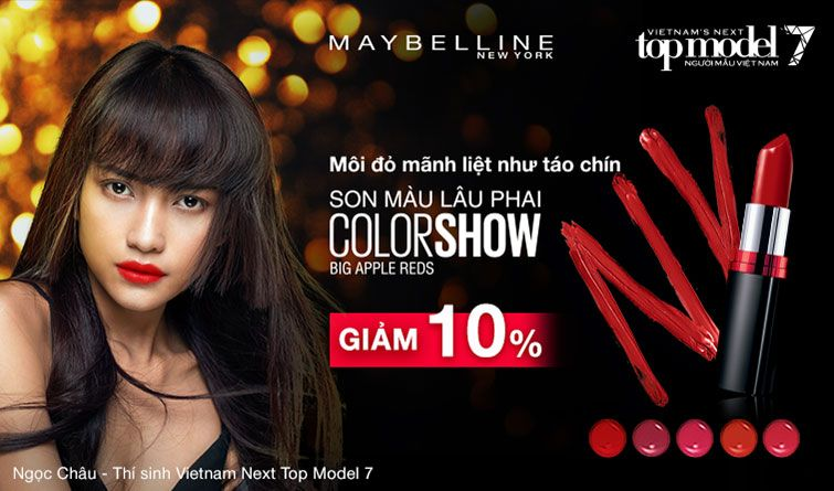 Image result for Vietnam's Next top model Maybelline