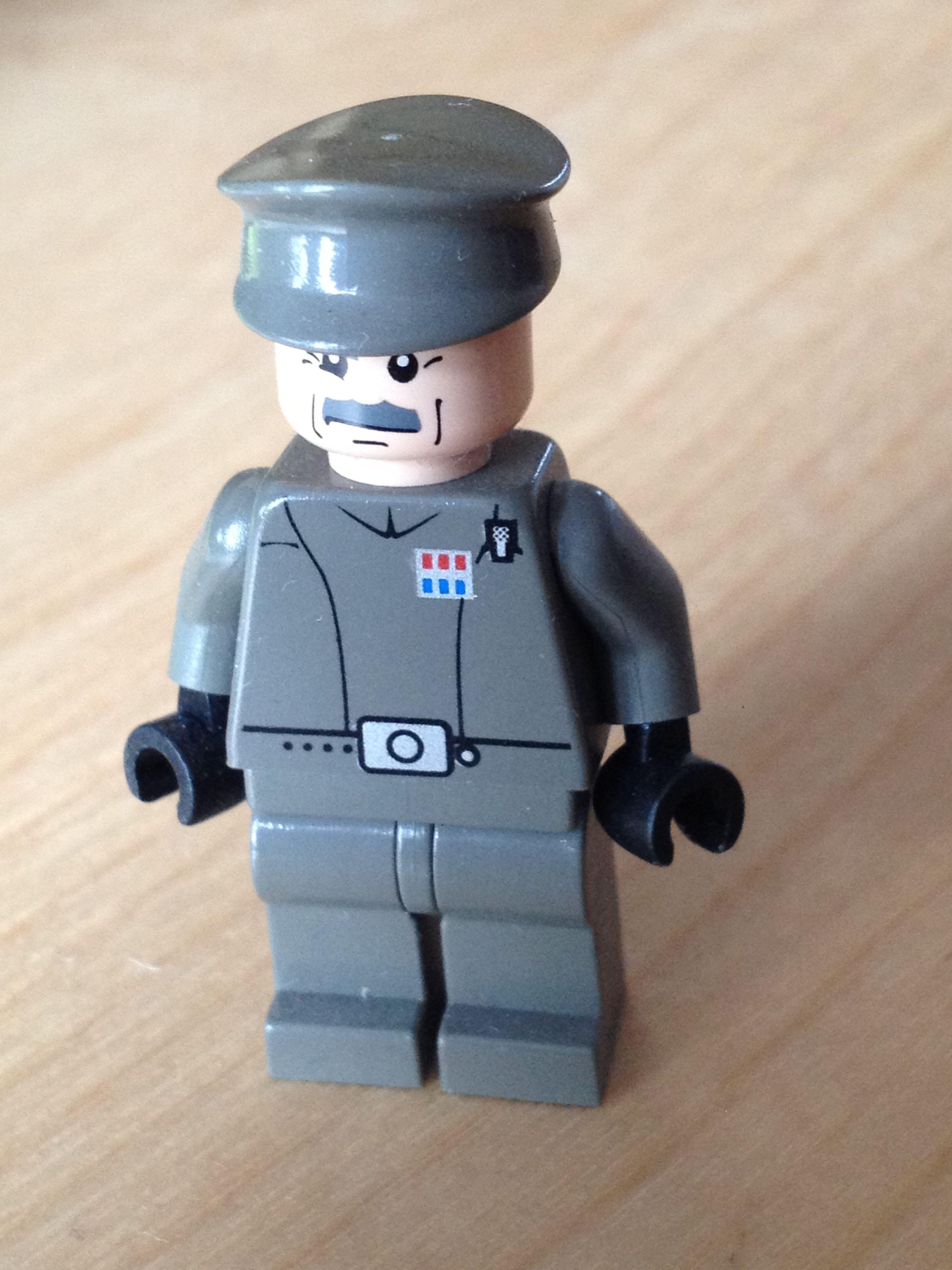 Custom Imperial Officer Star Wars Lego Lego Star Wars Imperial