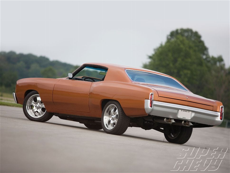 1970 Chevy Monte Carlo 350 Small Block Engine Super Chevy