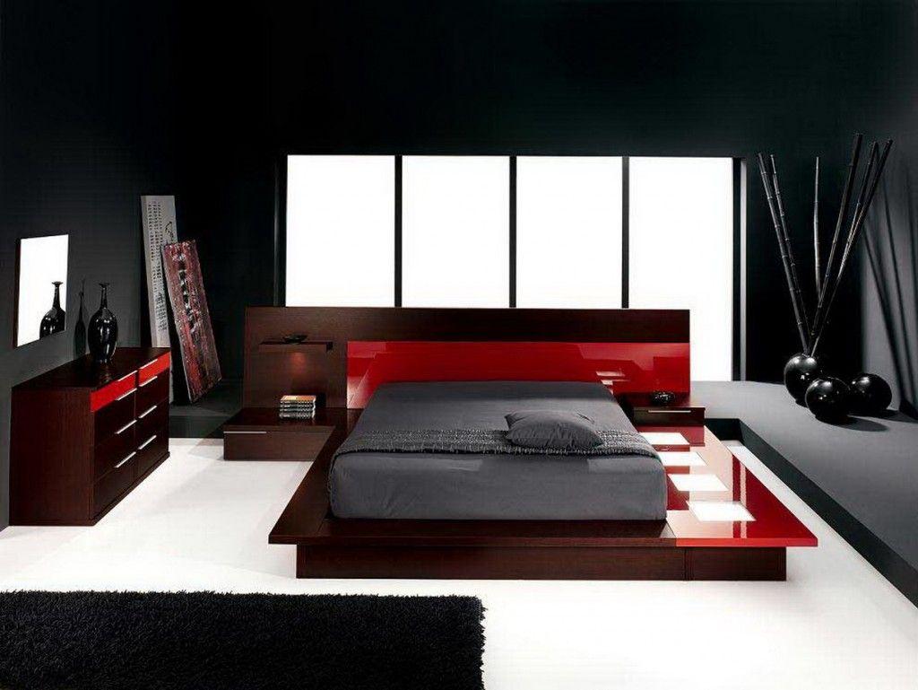Bedroom Modern Brown Furniture Sets With Stylish Dark