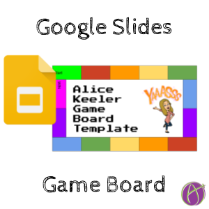 Game Board Template This Is Just For Fun I Created A Game Board Template And Thought I Would Share It Create A Teacher Tech Google Slides Board Game Template