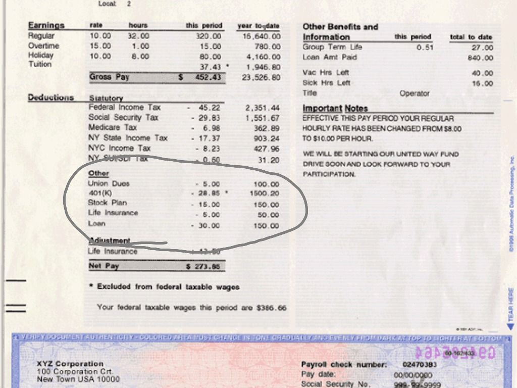 Related Pictures Adp Pay Stub Template Sample Oninstall