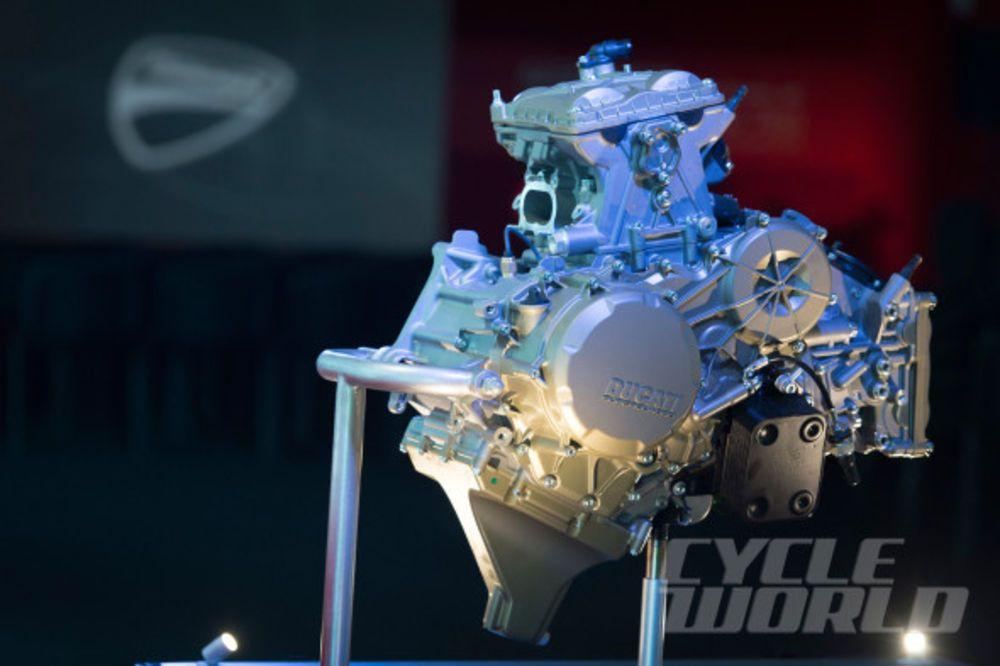2015 Ducati 1299 Panigale S engine