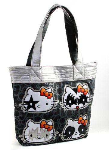 ccaf4fe39f20 Hello Kitty KISS Loungefly Metallic Tote Bag Purse -  http   handbagscouture.net