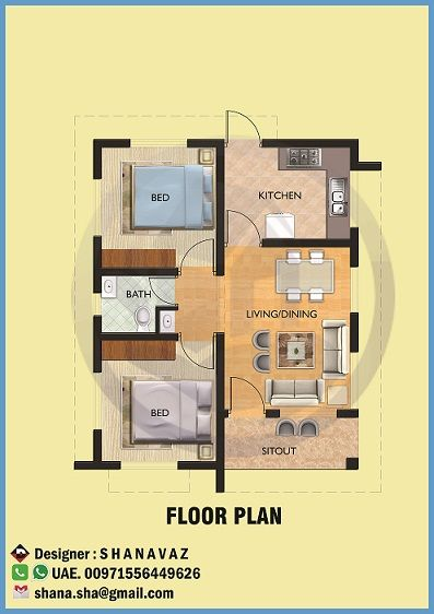Low Cost House Designs And Floor Plans Home Picture Double Plan Kerala Design Single Floor House Design House Design Floor Plan Design