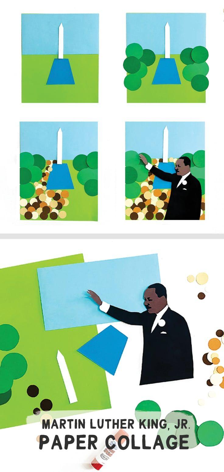 Make: A Collage celebrating Dr. Martin Luther King, Jr. - barley & birch