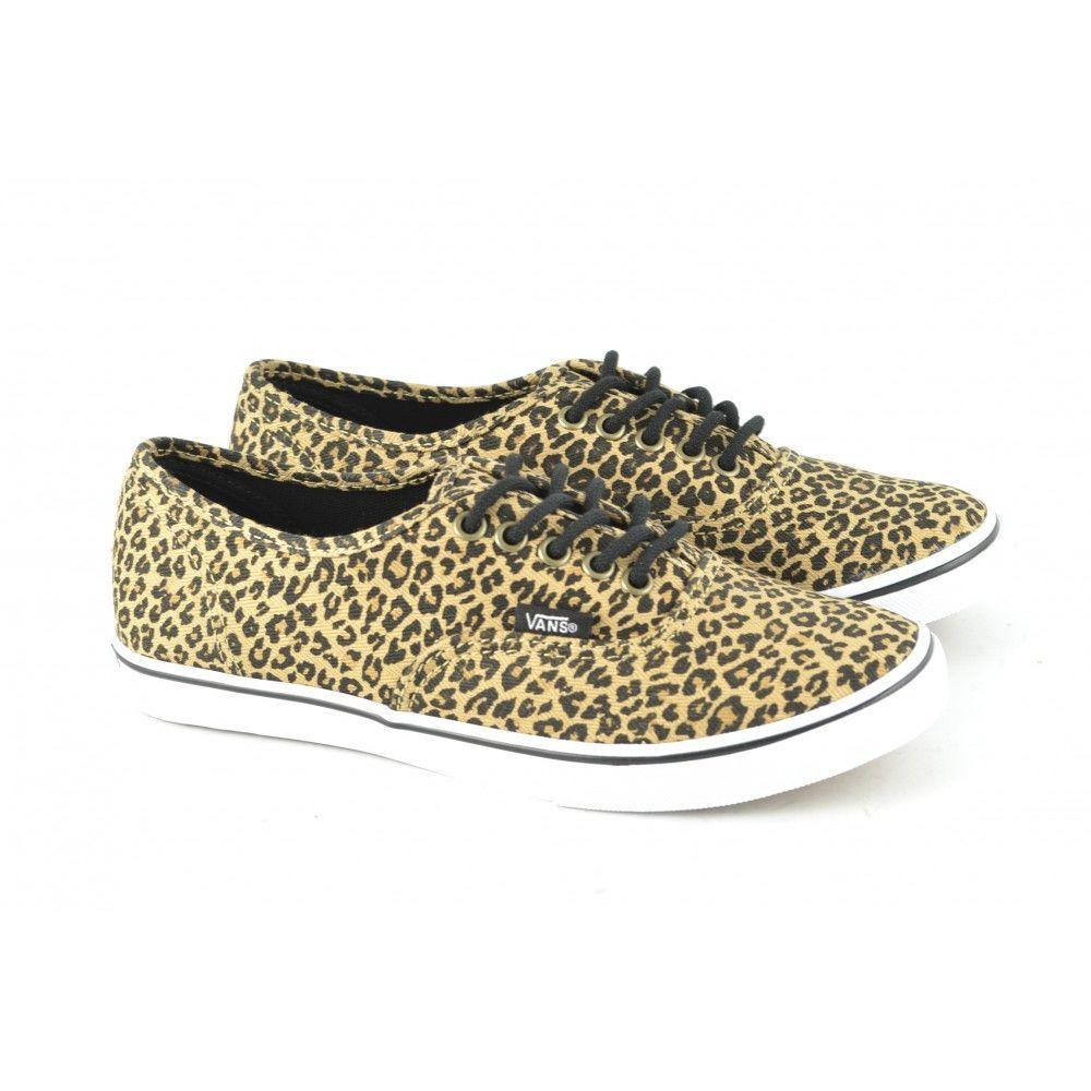 vans leopardo zapatillas