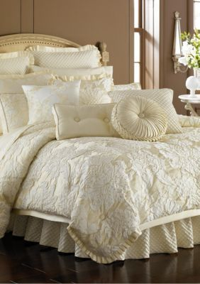 J Queen New York Duchess Ivory Online Only Comforter Sets Bed Luxury Bedding Sets Touch of class bedspreads and comforters