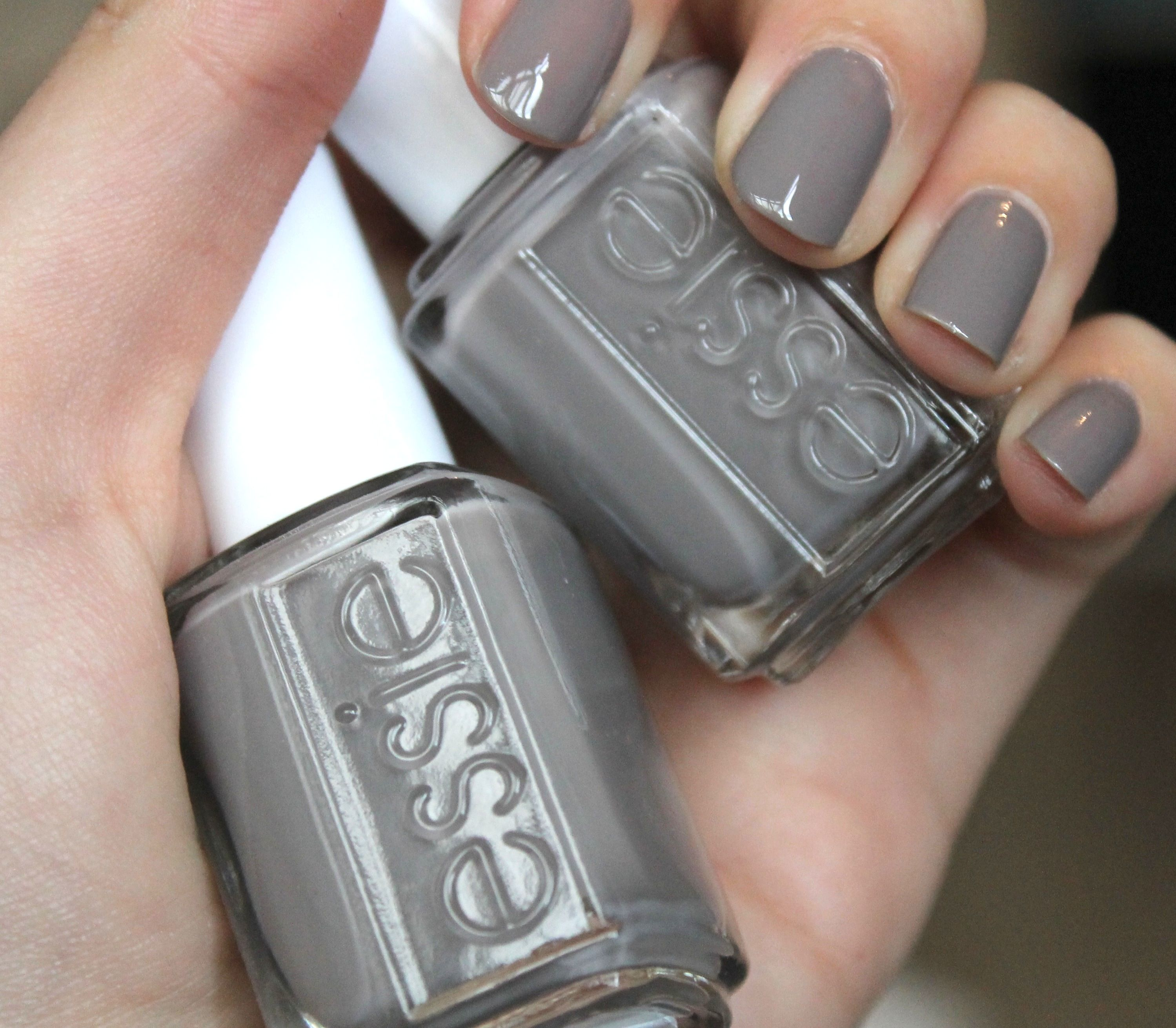 Essie Merino Cool Vs Chinchilly Google Search Essie Merino Cool Nail Polish Essie