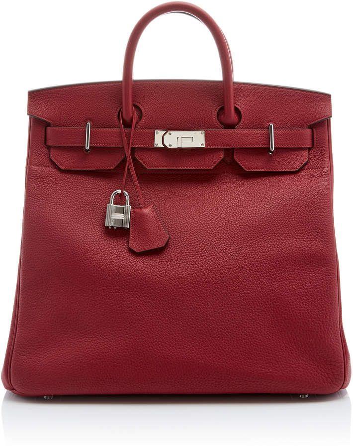 Heritage Auctions Special Collection Hermès 40cm Rouge Grenat Togo Leather HAC Birkin 7RZ6NpbGXm
