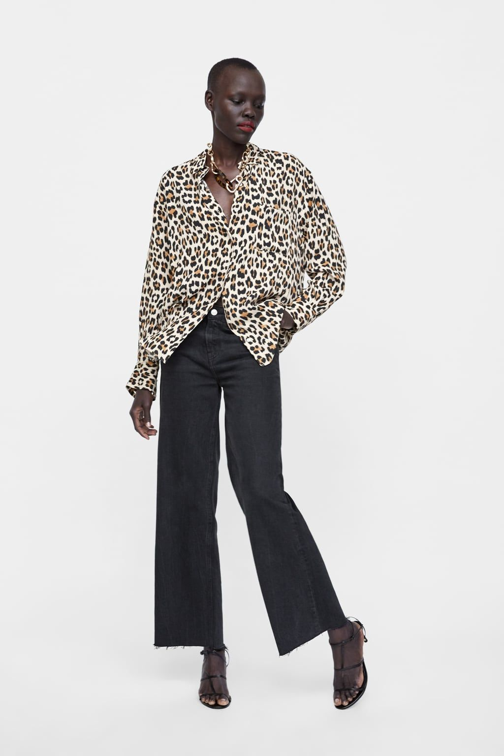 1efa0280a1d3 Leopard print shirt in 2019 | My style | Animal print shirts ...