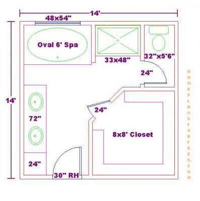 Pin By Melissa Krava On Bathroom Bathroom Plans Bathroom Floor Plans Master Bathroom Layout