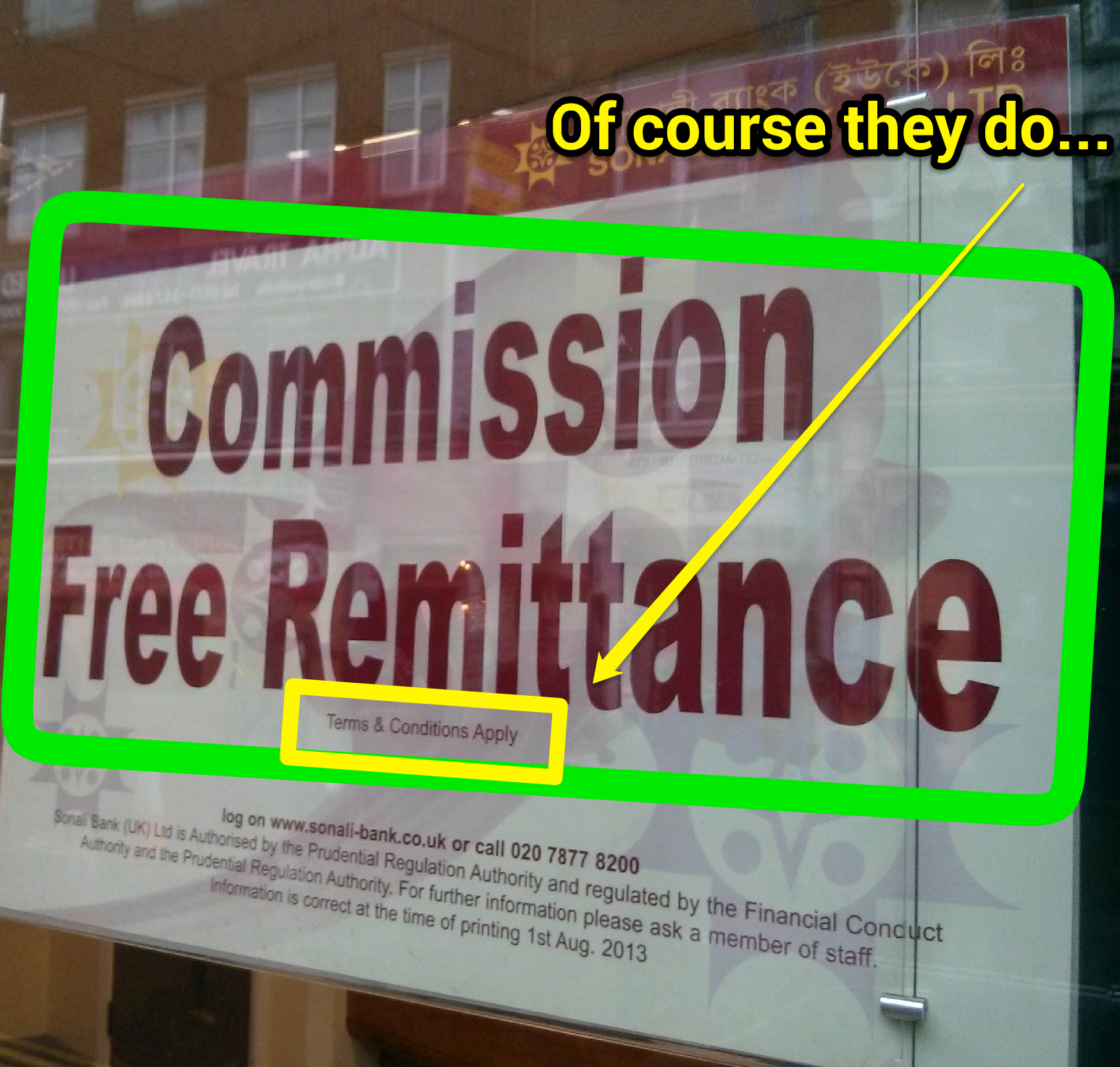 This Company Is Advertising Commission Free Remittances But Watch Out Terms And Conditions Ly