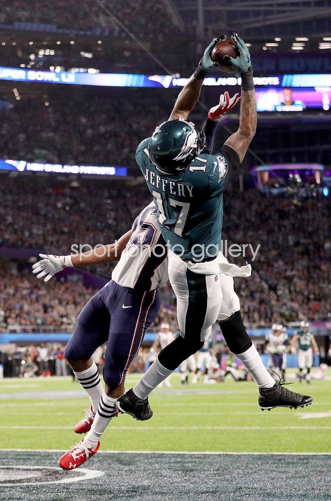 2ce1a7de4 Alshon Jeffery Philadelphia Eagles Touchdown Super Bowl 2018 Tom Brady