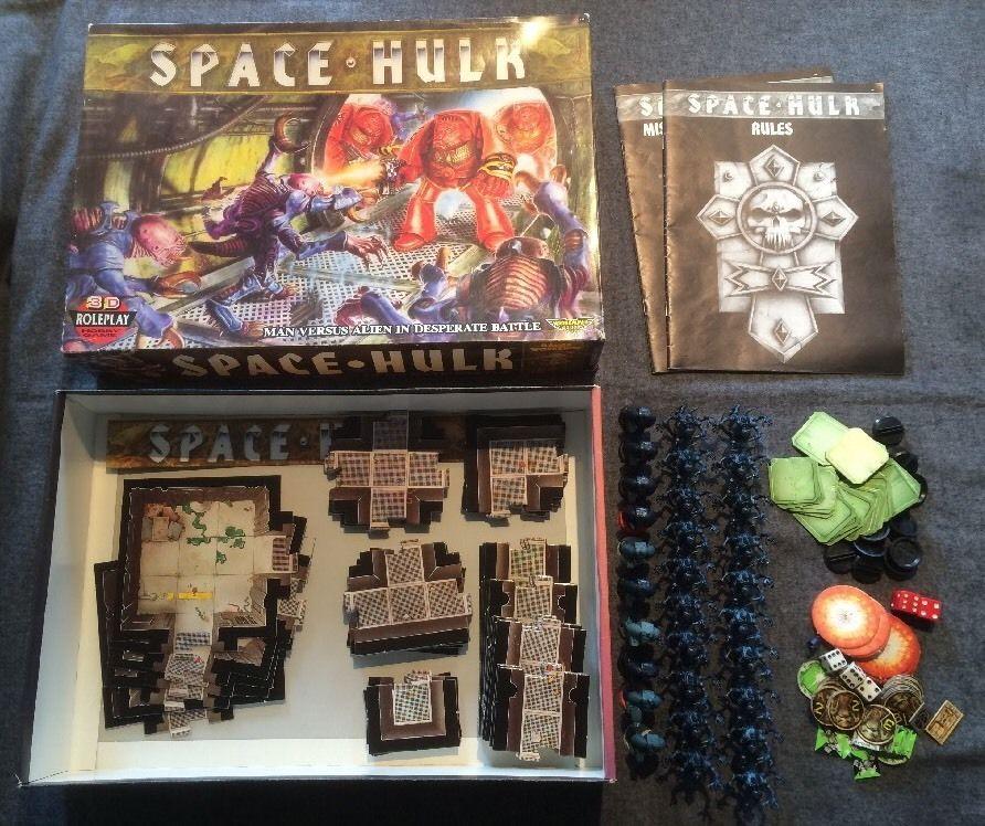 Warhammer 40k Space Hulk 1st edition board game Complete