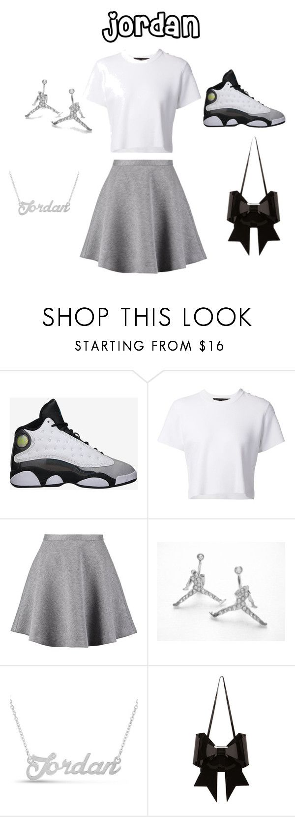 """""""jordan day"""" by nosaj14 ❤ liked on Polyvore featuring Retrò, Proenza Schouler, Tiger of Sweden, CO and MM6 Maison Margiela"""