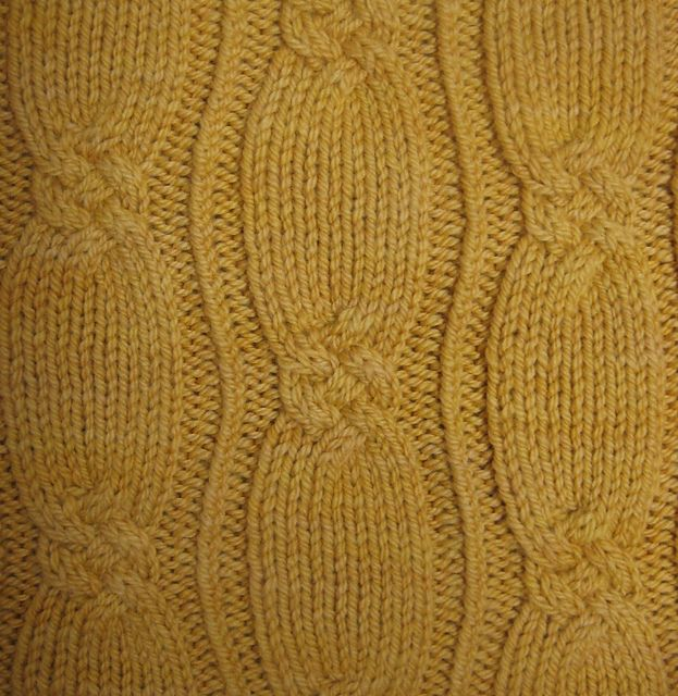 Golden Cable Pullover pattern by Rebecca Lennox | Strickmuster ...