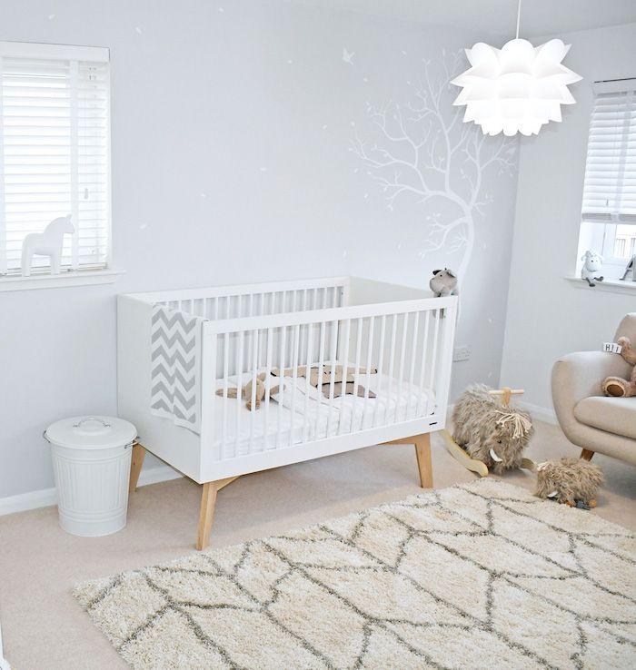 Skandinavisches Babyzimmer Das Weiss Der Unschuld Deco Chambre