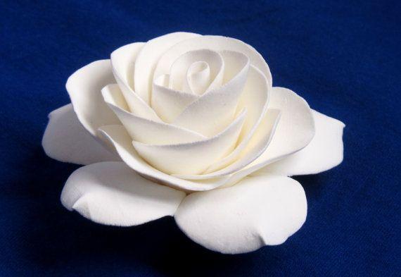 White Gardenia Hair Flower Wedding Accessories By Flowersofsharon 15 00 Flowers In Hair White Gardenia Bridal Flowers