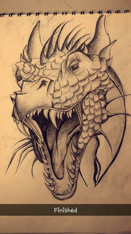 Photo of Dragon Sketch