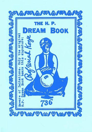 The H. P. Dream Book, by Uriah Konje, pseud. of Herbert G