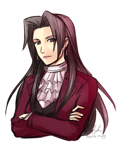 Post Found In Http Conmimi Tumblr Com Post 159576427605 Susato Just Wants Ryuunosukes Legacy To Live On Phoenix Wright Apollo Justice Game Character