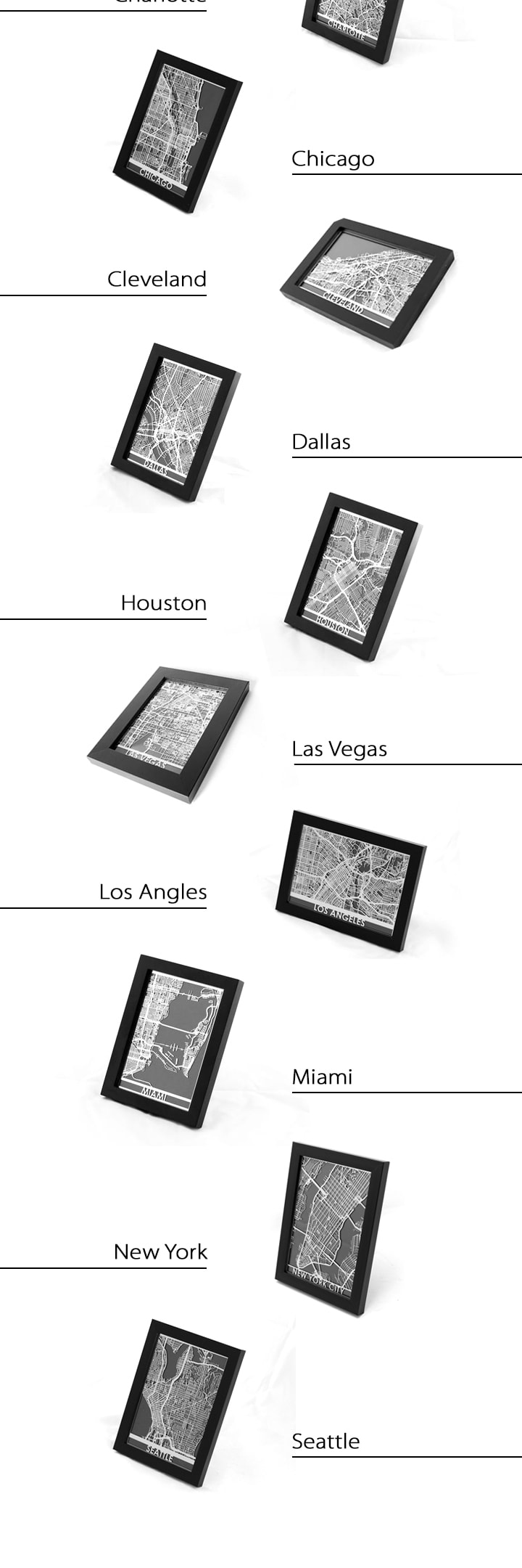 Steel Maps For US Cities Aerial View Places And Travel - Steel us maps