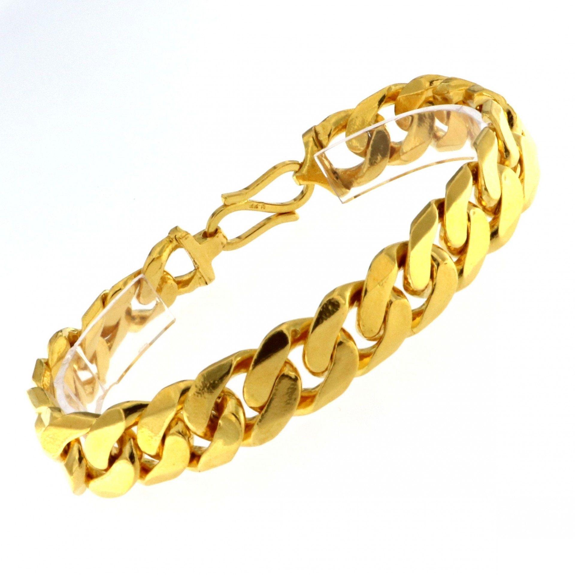 Mens Bracelet Gold Design Bracelets Gents Catalog With Designs