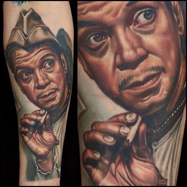 Cantinflas portrait by Nikko Hurtado