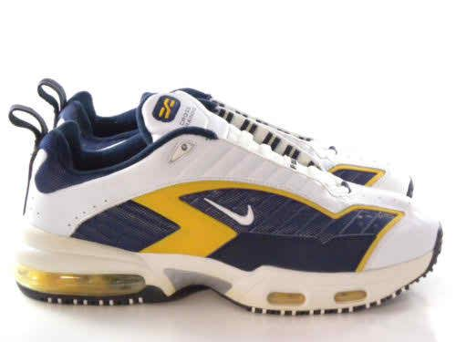 new styles 95fff 33172 Vintage Nike Air Metal Max III White Navy ... http