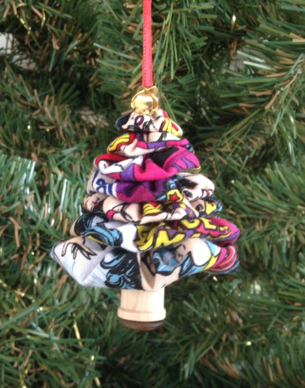 Primitive Wonder Woman Yo-Yo Christmas Tree Ornament by ...