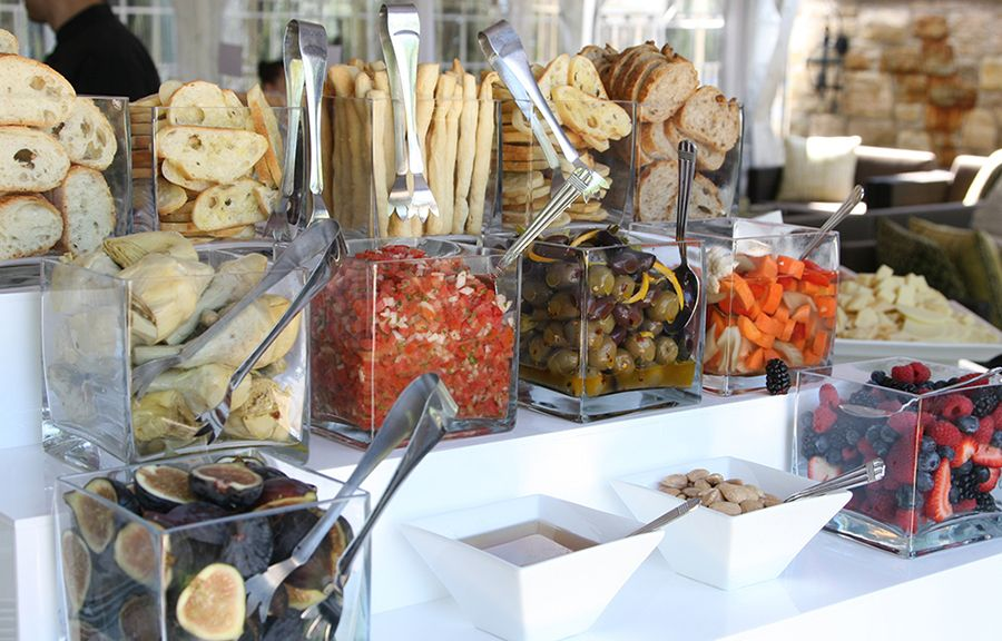 Antipasto Food Station from a recent wedding we catered in Toronto!