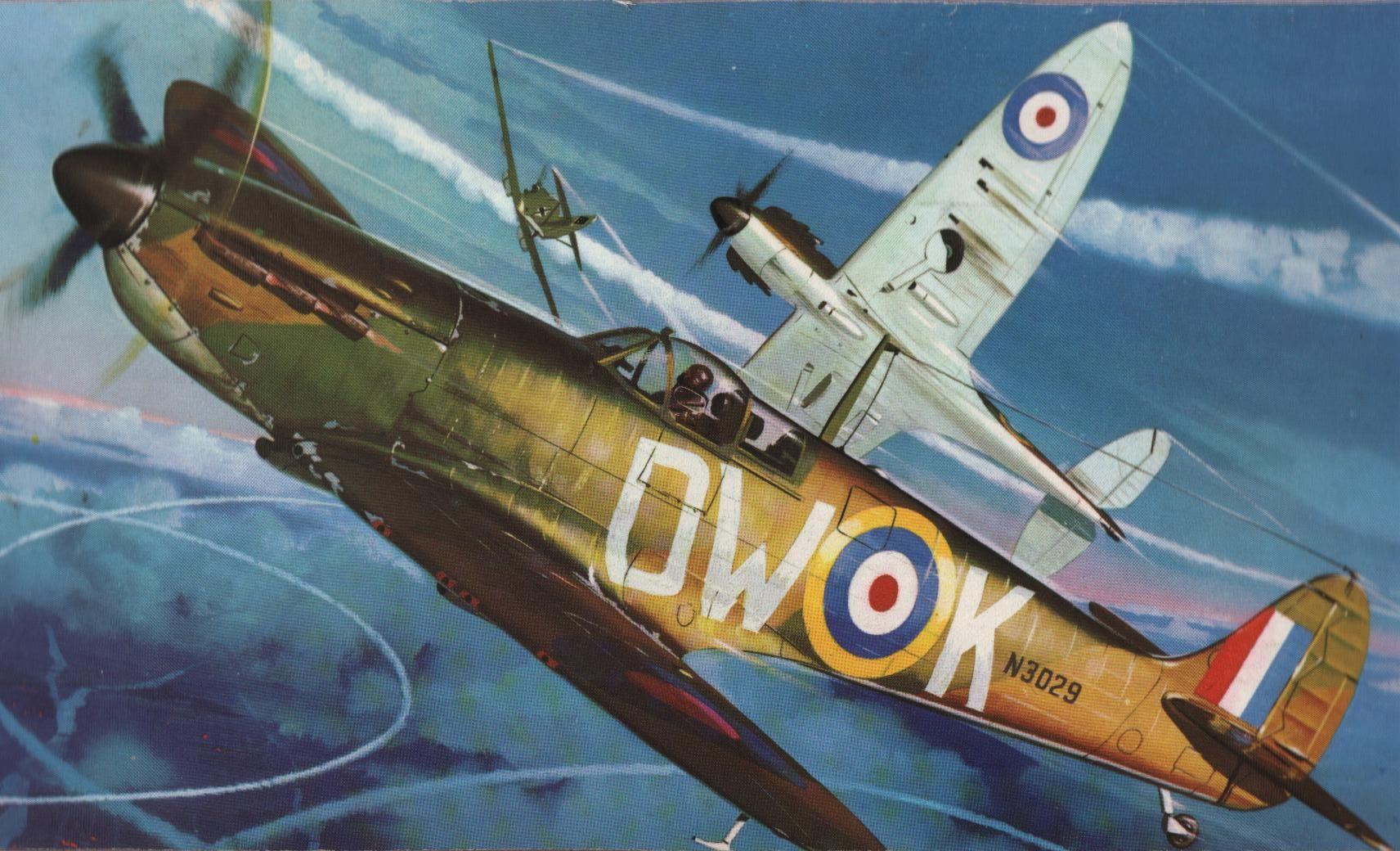 Favorite Box Art Revell 1 32 Spitfire Wwii Plane Art Aircraft Art Aviation Art