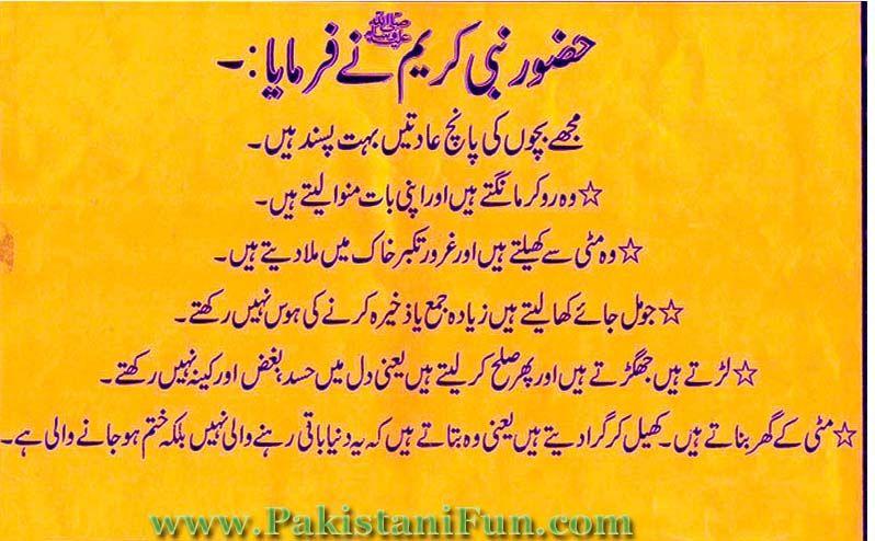 Hadees Mubarak In Urdu Wallpapers