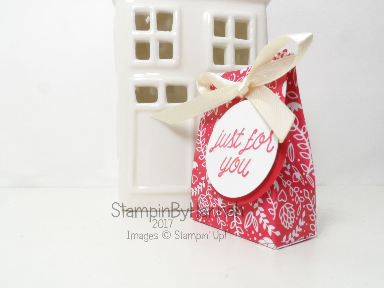 Make It Monday Love Hearts Mini Gift Bags January Thank you ...