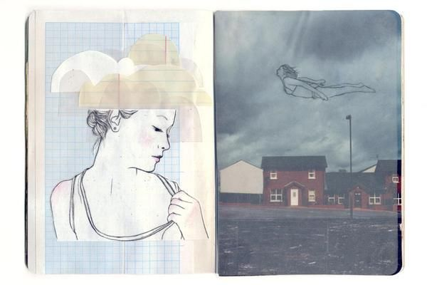 Anne van den Berg ➳ Sketchbook project 2012 by Anne van den Berg, via Behance