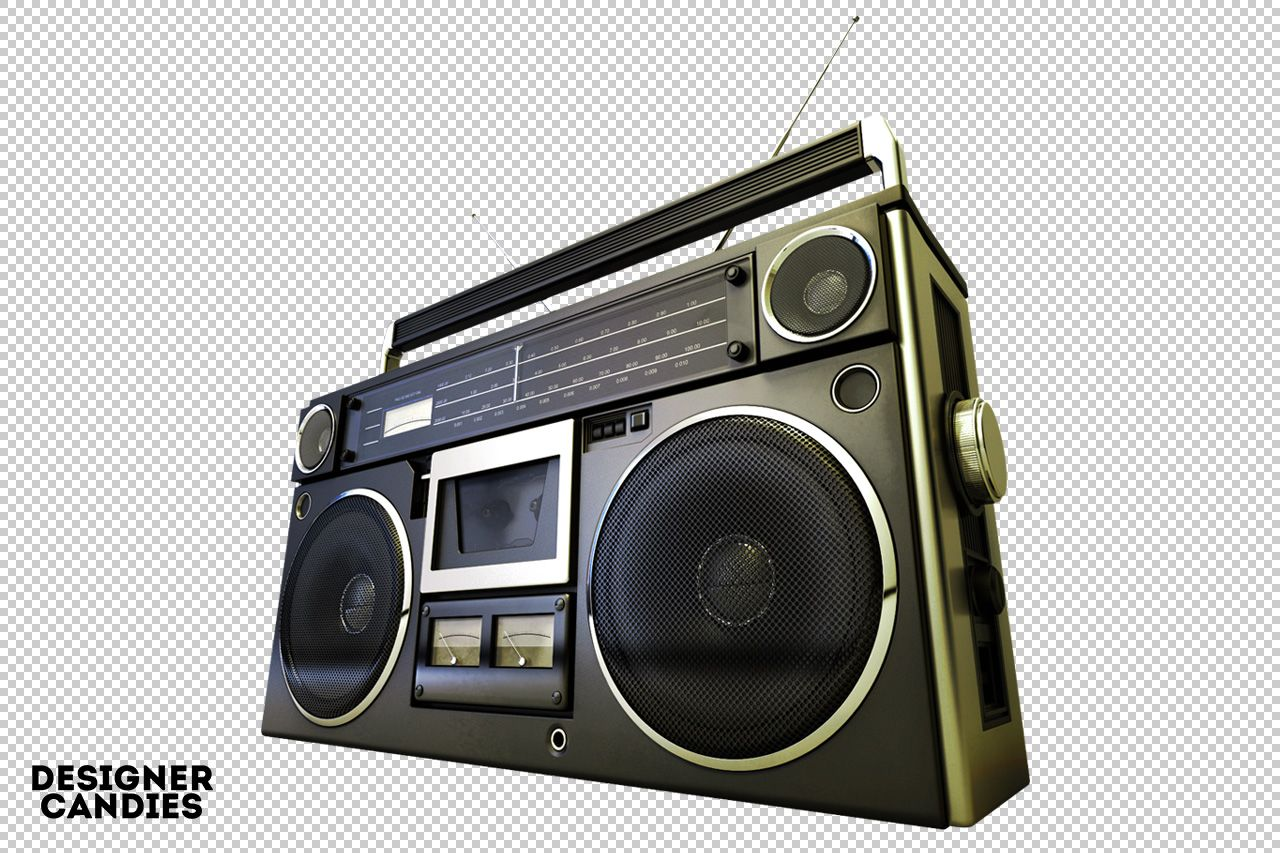Images of Old School Boombox Drawing - #rock-cafe