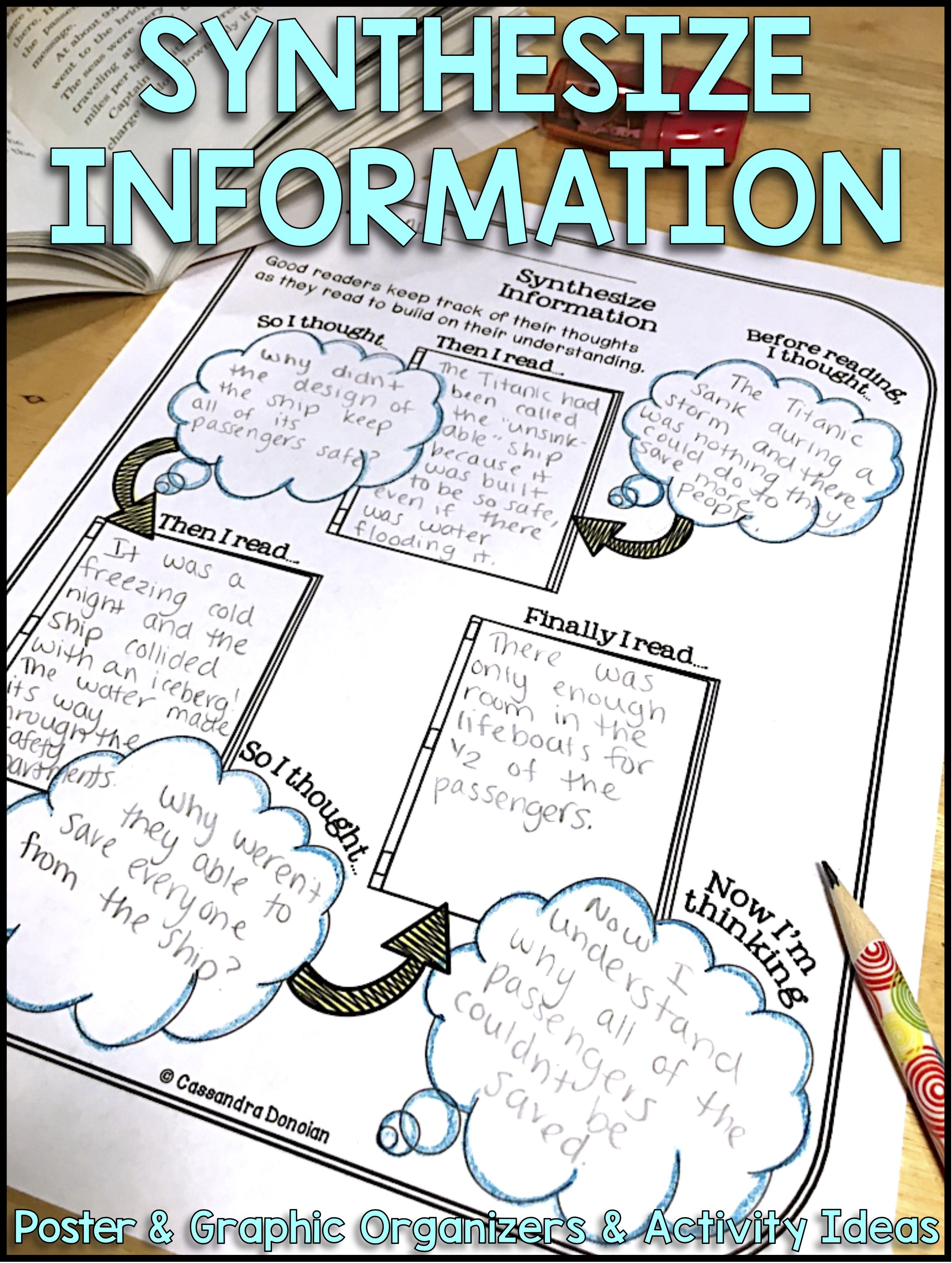 Synthesize Information Reading Comprehension Strategy