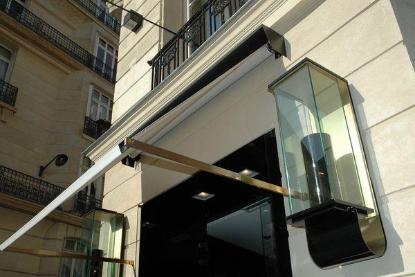 store enrouleur exterieur 01_FACADE Pinterest Facades and Cafes - store exterieur veranda prix