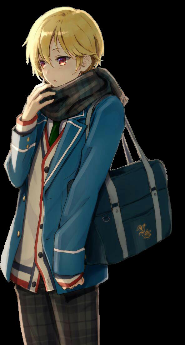 Anime Boy - Scarf [Ugly Heart] by xXSarcastic on DeviantArt