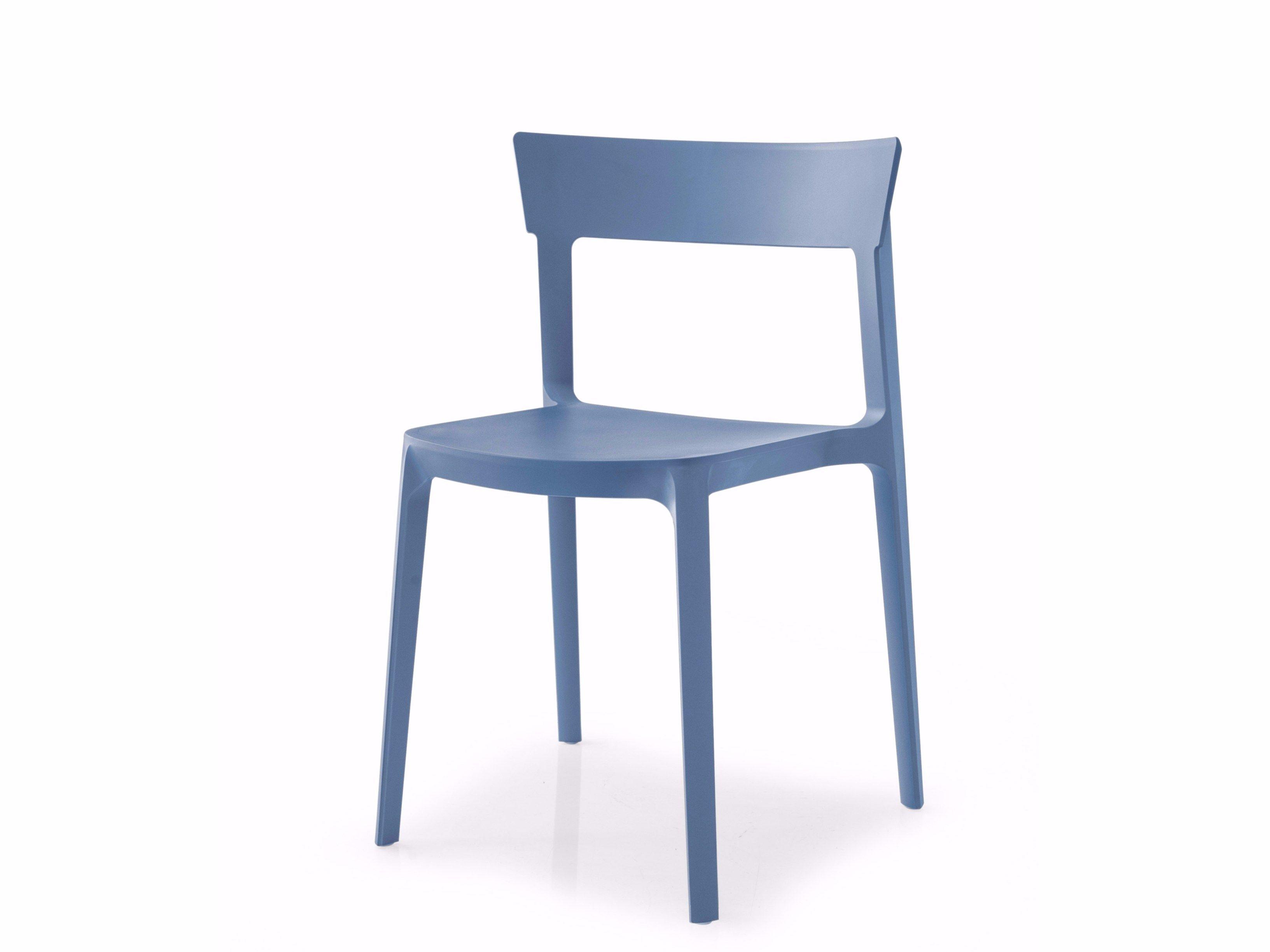 Calligaris Skin Stacking Chair Blue 170usd Calligaris Chair