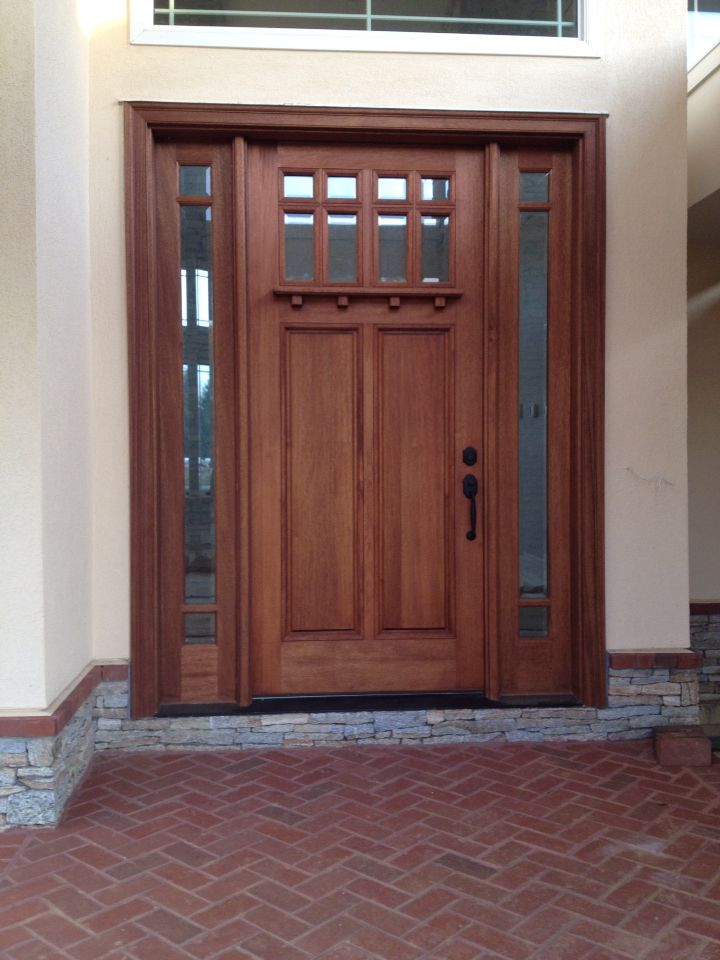 96 Doors Amp 36 In X 96 In Craftsman Beveled Glass Right