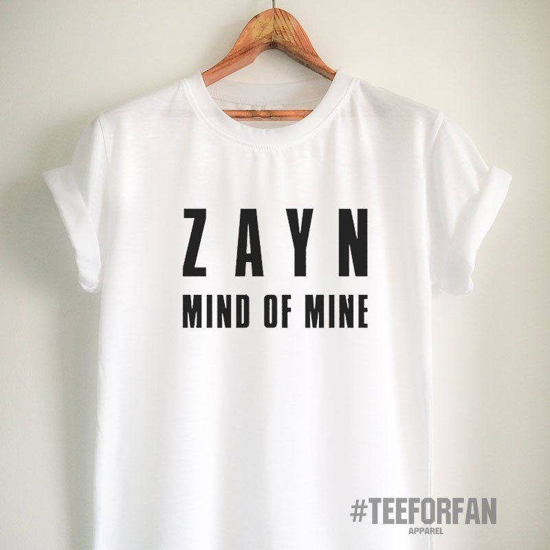 731f7234 Zayn Malik Shirt Mind of Mine T Shirt Zayn Malik Merch Clothing Top Tee  Jersey for Women Girls Men