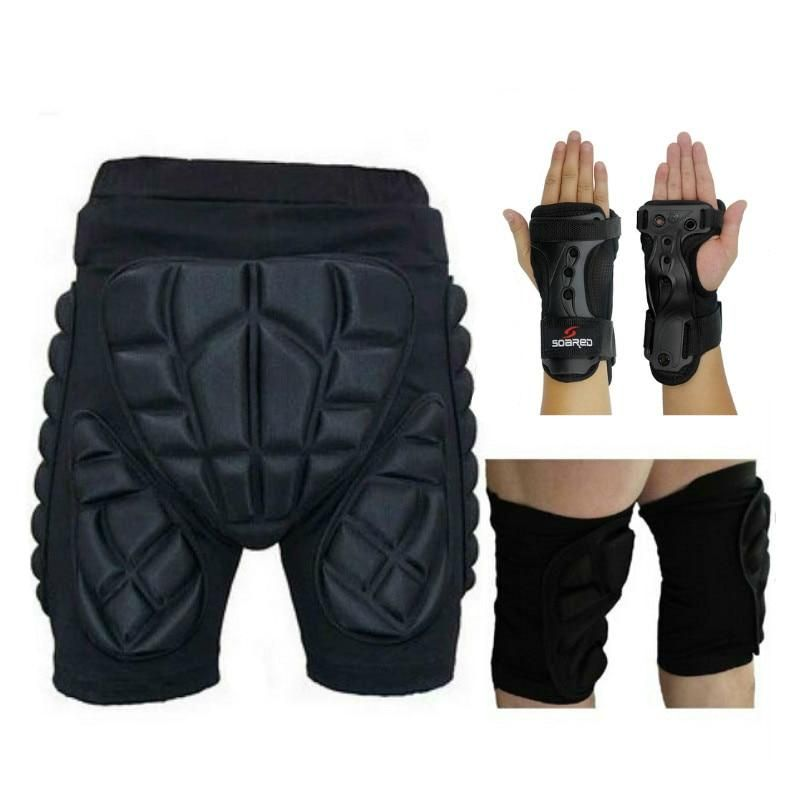 Extreme sport protection hip pads extreme sports