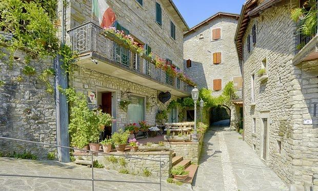'Alberghi diffusi'—secret hotels for tiny towns