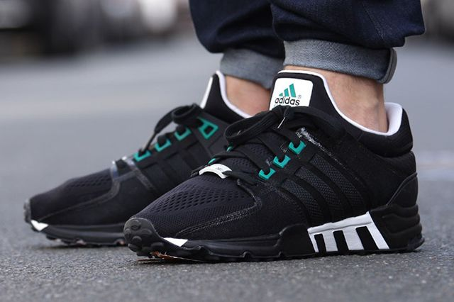 Adidas Eqt Running Support Og Black Sub Green & White