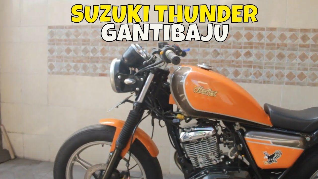 Modifikasi Motor Thunder Orange Di 2020 Motor Sport Motor Kendaraan