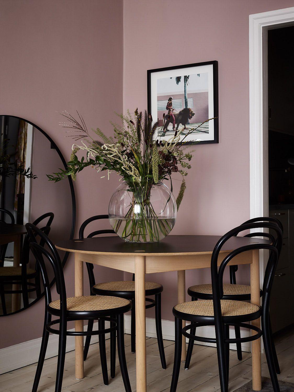 En design intérieur, pink is the new black !